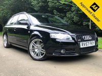 USED 2007 57 AUDI A4 2.0 TDI S LINE SPECIAL EDITION 5d 170 BHP