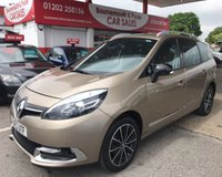 2013 RENAULT GRAND SCENIC 1.6 DYNAMIQUE TOMTOM BOSE PLUS DCI S/S * 7 SEATER * £9495.00