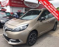 USED 2013 63 RENAULT GRAND SCENIC 1.6 DYNAMIQUE TOMTOM BOSE PLUS DCI S/S * 7 SEATER *