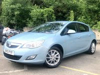 2010 VAUXHALL ASTRA 1.6 EXCLUSIV 5d ALLOYS, 2 FORMER KEEPERS 6 SERVICES  £3990.00