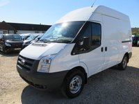 2011 FORD TRANSIT 350 MWB 2.4 TDCi HIGH ROOF WITH TAIL LIFT 12839 MILES  £10995.00