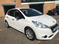 2014 PEUGEOT 208 1.0 ACCESS 5 DOOR, ONLY 23K FREE TAX, CHEAP INSURANCE £5990.00