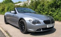 USED 2007 07 BMW 6 SERIES 4.8 650I SMG 2d SPORTS CONVERTIBLE, SIMPLY A STUNNING CAR, 11 SERVICE STAMPS