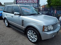 """USED 2008 58 LAND ROVER RANGE ROVER 3.6 TDV8 VOGUE 5d AUTO 272 BHP 21"""" ALLOYS, LEATHER, SAT NAV, F.S.H, GREAT VALUE"""
