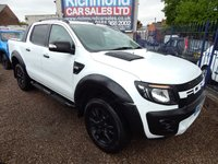 USED 2013 57 FORD RANGER 3.2 WILDTRAK 4X4 DCB TDCI 1d 197 BHP NO VAT, LEATHER, SAT NAV , BODYKIT