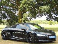 2010 AUDI R8 5.2 SPYDER V10 QUATTRO 2d AUTO 518 BHP £49995.00