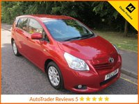 USED 2012 12 TOYOTA VERSO 2.0 TR D-4D 5d 125 BHP. SAT NAV*TOYOTA HISTORY* Fantastic Toyota Verso Diesel with Satellite Navigation, Seven Seats, Climate Control, Cruise Control, Alloy Wheels and Toyota Service History