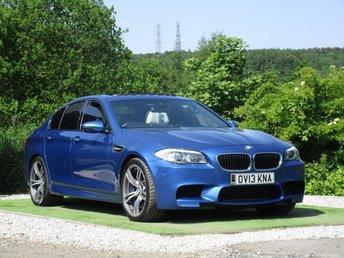2013 BMW M5 4.4 M5 4d AUTO 553 BHP £27500.00
