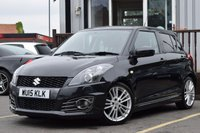 2015 SUZUKI SWIFT 1.6 SPORT 5d 136 BHP £8495.00