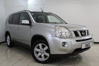 USED 2008 57 NISSAN X-TRAIL 2.0 AVENTURA EXPLORER DCI 5DR 148 BHP HEATED/COOLED LEATHER SEATS + SAT NAVIGATION + REVERSE CAMERA + CRUISE CONTROL + MULTI FUNCTION WHEEL + AIR CONDITIONING + 17 INCH ALLOY WHEELS