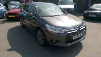 2015 DS DS 4 1.2 PURETECH DSTYLE NAV S/S 5 DOOR 129 BHP IN METALLIC GREY WITH ONLY 16000 MILES £9999.00