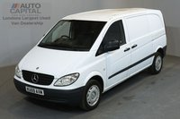 USED 2009 59 MERCEDES-BENZ VITO 2.1 111 CDI 116 BHP SWB NO VAT 2 OWNER FROM NEW, MOT UNTIL 25/04/2019