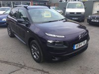 2015 CITROEN C4 CACTUS 1.2 PURETECH FEEL 5 DOOR 80 BHP IN PURPLE WITH ONLY 25000 MILES £7499.00
