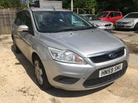 2009 FORD FOCUS 1.6 STYLE TDCI 5 DOOR 90 BHP ESTATE IN SILVER WITH 116000 MILES (TRADE CLEARANCE) £1699.00