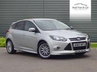 2013 FORD FOCUS 1.6 ZETEC S TDCI 5d 113 BHP £8995.00