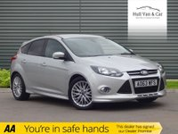 USED 2013 63 FORD FOCUS 1.6 ZETEC S TDCI 5d 113 BHP AIR CON, BLUETOOTH, DAB,ALLOYS