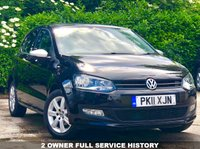 USED 2011 11 VOLKSWAGEN POLO 1.2 MATCH 5d 59 BHP