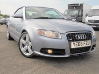 USED 2006 06 AUDI A4 2.0 TDI S LINE 2d 141 BHP 12 MONTHS MOT 2 KEYS, HEATED LEATHER SEATS EXCELLENT CONDITION