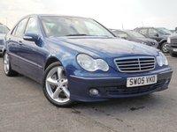 2005 MERCEDES-BENZ C CLASS 2.1 C220 CDI AVANTGARDE SE 4d AUTO 148 BHP £1995.00