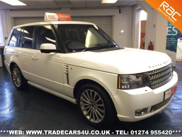 2011 61 LAND ROVER RANGE ROVER 4.4 TDV8 VOGUE SE 8 SPEED IN WHITE