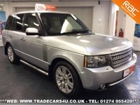 USED 2009 X LAND ROVER RANGE ROVER 3.6 TDV8 VOGUE SE DIESEL*REAR DVD SCREENS*FACELIFT MODEL UK DELIVERY* RAC APPROVED* FINANCE ARRANGED* PART EX