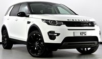 USED 2017 17 LAND ROVER DISCOVERY SPORT 2.0 TD4 HSE Black 4X4 (s/s) 5dr Auto Pan Roof, Reverse Cam, Sat Nav