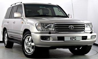 2004 TOYOTA LAND CRUISER AMAZON 4.2 TD 5dr Auto £24995.00