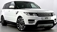 """USED 2014 14 LAND ROVER RANGE ROVER SPORT 3.0 SD V6 HSE 4X4 (s/s) 5dr Auto Pan Roof, 22"""" Alloys, Privacy"""