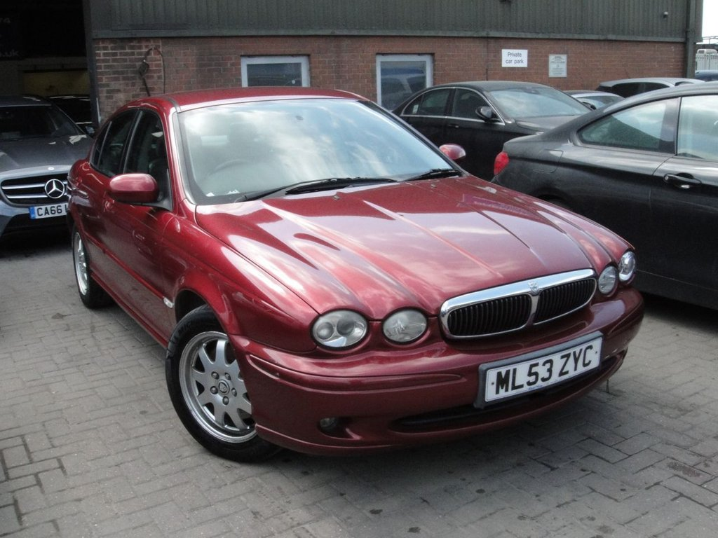 USED 2003 53 JAGUAR X TYPE 2.1 V6 4d 157 BHP ANY PART EXCHANGE WELCOME ...