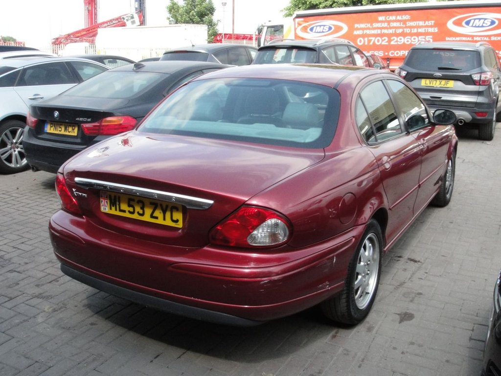 2003 Jaguar X Type V6 1000 Used 53 21 4d 157 Bhp Any Part Exchange Welcome
