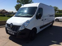 2015 RENAULT MASTER 2.3 LM35 BUSINESS DCI S/R P/V 1d 125 BHP £9995.00