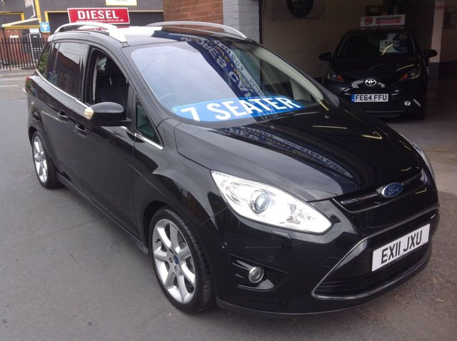 2011 11 FORD GRAND C-MAX 1.6 TDCI  TITANIUM   7 SEATER