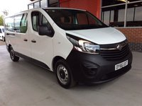 USED 2016 66 VAUXHALL VIVARO 1.6 CDTI LWB 9 SEAT MINIBUS L2 125 BHP 9 SEATS 6 SPEED TWIN SLIDING DOORS BLUETOOTH PHONE