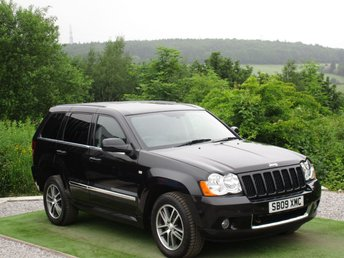 2009 JEEP GRAND CHEROKEE 3.0 S LIMITED CRD V6 5d AUTO 215 BHP £8500.00