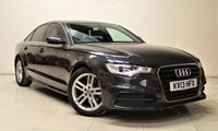 USED 2013 13 AUDI A6 2.0 TDI S LINE 4d 175 BHP + 2 PREV OWNER +  SAT NAV + AIR CON + BLUETOOTH