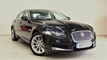 2012 JAGUAR XF 2.2 D LUXURY 4d AUTO 190 BHP £9799.00