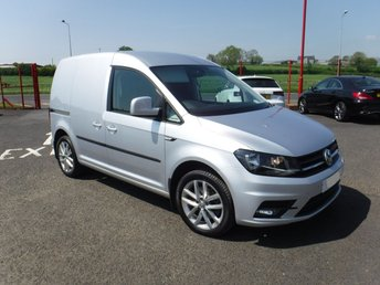 2016 VOLKSWAGEN CADDY 2.0 C20 TDI HIGHLINE 1d 148 BHP £15500.00