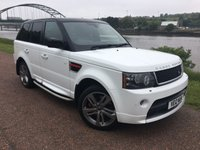 USED 2012 12 LAND ROVER RANGE ROVER SPORT 3.0 SDV6 HSE RED 5d AUTO 255 BHP ***RED EDITION***
