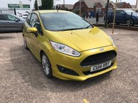 USED 2014 14 FORD FIESTA 1.6 ZETEC S TDCI 3d 94 BHP JUST ARRIVED 1 OWNER-FULL MAIN DEALER SERVICE HISTORY-ZERO£££ ROAD TAX-AIR CON