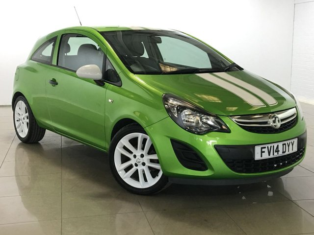 View our 2014 14 VAUXHALL CORSA 1.2 STING 3d 83 BHP