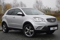 2013 SSANGYONG KORANDO 2.0 LIMITED EDITION 5d 146 BHP £6990.00