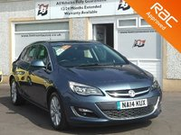 USED 2014 14 VAUXHALL ASTRA 1.6 ELITE 5d 113 BHP Full Service history - Parking Sensors - Heated seats - Cruise control