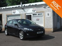 USED 2012 12 FORD FOCUS 1.6 ZETEC 5d 104 BHP 5 Service Stamps , 1 Owner , Bluetooth , Heated windscreen