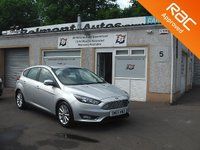 USED 2015 65 FORD FOCUS 1.5 TITANIUM TDCI 5d 118 BHP 1 Owner , Bluetooth ,DAB radio ,Cruise control ,Touch screen monitor .