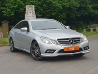 2011 MERCEDES-BENZ E CLASS 3.0 E350 CDI BLUEEFFICIENCY SPORT 2dr AUTO £7995.00