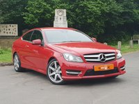 2012 MERCEDES-BENZ C CLASS C220 CDI BlueEFFICIENCY AMG Sport 2dr Auto £10995.00