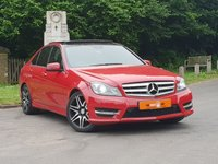 2013 MERCEDES-BENZ C CLASS C220 CDI BlueEFFICIENCY AMG Sport Plus 4dr Auto £11995.00
