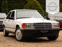 USED 1986 D MERCEDES-BENZ 190 2.0 E 4d AUTO 122 BHP