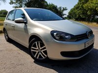 2010 VOLKSWAGEN GOLF 1.6 SE TDI 5d ALLOYS & A/C £3850.00