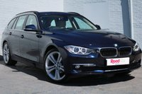 USED 2015 15 BMW 3 SERIES 2.0 320D LUXURY TOURING 5d AUTO 181 BHP NEARLY £5000 WORTH OF EXTRAS